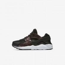Nike Huarache Lifestyle Shoes Girls Black/Pink/White JO7770AO