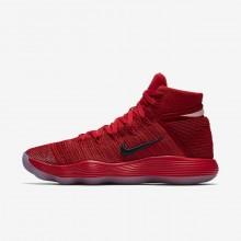 Nike React Hyperdunk 2017 Flyknit Basketball Shoes Womens Red/Silver JV6913GD