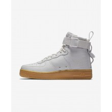 Nike SF Air Force 1 Lifestyle Shoes Womens Grey/Light Brown/Grey KB1026BZ