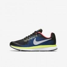 Nike Zoom Running Shoes Boys Black/Blue KF8636VO