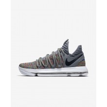 Nike Zoom KDX Basketball Shoes Womens Multicolor/Grey/White/Black KH6327TY