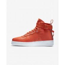 Nike SF Air Force 1 Lifestyle Shoes Mens Orange/Black/Orange KN9517EP