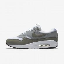 Nike Air Max 1 Lifestyle Shoes Womens White/Black KO7284TJ