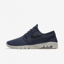 Nike SB Stefan Janoski Max Skateboard Shoes Mens Blue/Brown/Black KQ2212AP