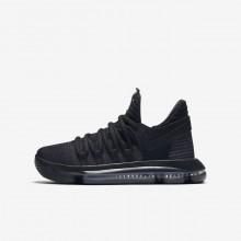 Nike Zoom KDX Basketball Shoes Boys Black/Dark Grey/Black KQ4166BC