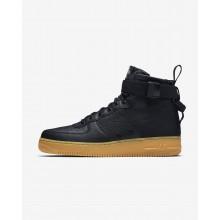 Nike SF Air Force 1 Lifestyle Shoes Mens Black/Light Brown/Black KU7189DJ