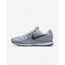 Nike Air Zoom Running Shoes Womens Platinum/Grey/Black/Dark Grey LA8052UO