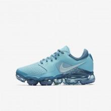 Nike Air VaporMax Running Shoes Boys Light Turquoise/Light Turquoise/Blue LC6053GI