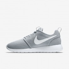 Nike Roshe One Lifestyle Shoes Mens Grey/White LC8971SU