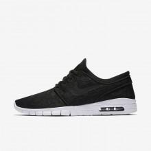 Nike SB Stefan Janoski Max Skateboard Shoes Mens Black/White/Black LD9285DW