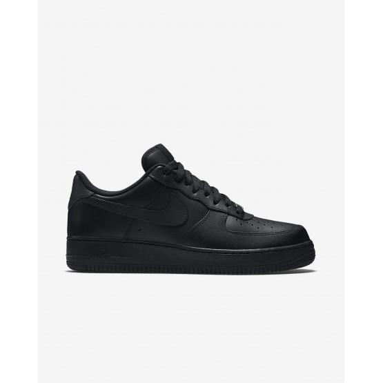 Nike Air Force 1 Lifestyle Shoes Mens Black LE3403PX