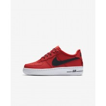 Nike Air Force 1 Lifestyle Shoes Boys Red/White/Black LK8974QW