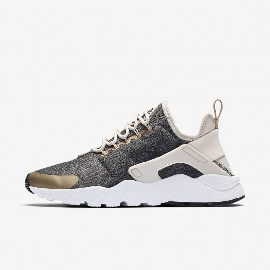 Nike Air Huarache Ultra Lifestyle Shoes Womens Light Brown/Black/Light Brown LT2428RK