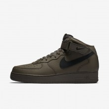 Nike Air Force 1 Lifestyle Shoes Mens Black LY4619QH