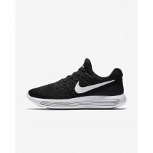 Nike LunarEpic Low Flyknit 2 Running Shoes Womens Black/Dark Grey/White MI2555EJ