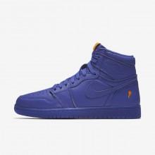 Air Jordan 1 Retro High OG Lifestyle Shoes Mens Purple MQ4245LR