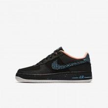 Nike Air Force 1 Lifestyle Shoes Boys Black/Red/White MQ9001UA