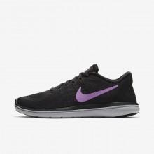 Nike Flex 2017 RN Running Shoes Womens Black/Grey/Fuchsia MV8907IF