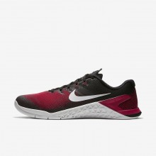 Nike Metcon 4 Training Shoes Mens Black/Red/Grey MX5749JG
