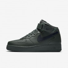 Nike Air Force 1 Lifestyle Shoes Mens Green/Black NE6390UC
