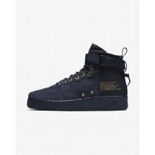 Nike SF Air Force 1 Lifestyle Shoes Mens Obsidian/Black/Obsidian NK1039LB