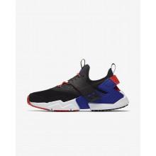 Nike Air Huarache Drift Lifestyle Shoes Mens Black/Orange/Purple NK7589RY