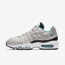 Nike Air Max 95 Lifestyle Shoes Mens Black/White/Turquoise NO6265YG