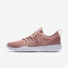 Nike Free TR Training Shoes Womens Pink/White/Coral NS2274RN