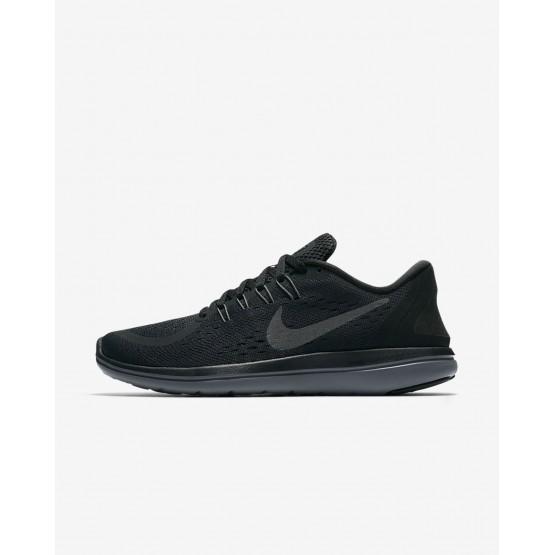 Nike Flex 2017 RN Running Shoes Womens Black/Dark Grey/Dark Grey/Metallic NX2943PY