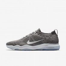 Nike Air Zoom Training Shoes Womens Grey/White OF3221FT
