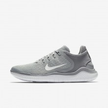 Nike Free RN 2018 Løbesko Kvinder Grå/Hvide OI3998SH