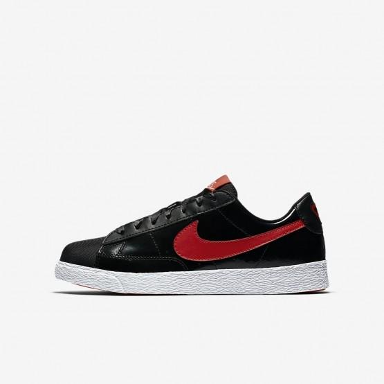 Nike Blazer Lifestyle Shoes Girls Black/Coral/Red ON1181UR