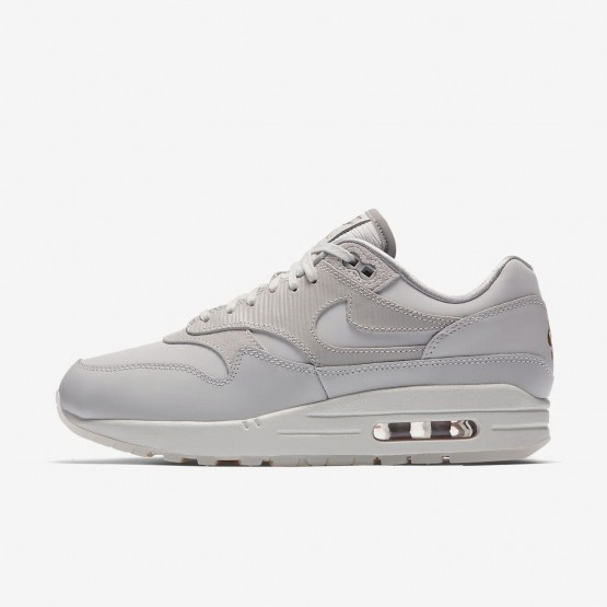Nike Air Max 1 Lifestyle Shoes Womens Grey/White/Grey OY7832YP