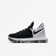 Nike Zoom KDX Basketball Shoes Boys Black/White/Black PB9985RG
