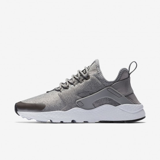 Nike Air Huarache Ultra Lifestyle Shoes Womens Metallic/Black PH1638AU