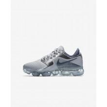 Nike Air VaporMax Running Shoes Boys Grey/Metallic Silver/Dark Grey/Dark Grey PH8377VP