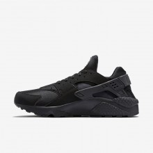 Nike Air Huarache Lifestyle Shoes Mens Black/Grey/Black PJ6233IP