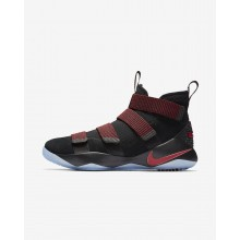Nike LeBron Soldier XI Basketball Shoes Womens Black/Red PS9170PN
