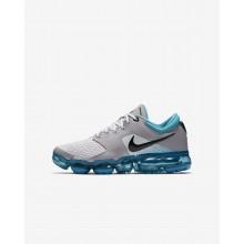 Nike Air VaporMax Running Shoes Boys Grey/Black PV7090WE