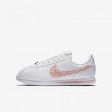 Nike Cortez Lifestyle Shoes Girls White/Pink/Coral PW6520YG