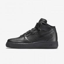Nike Air Force 1 Lifestyle Shoes Womens Black QD8519LN