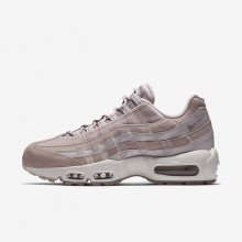 Nike Air Max 95 Lifestyle Shoes Womens Rose/Grey/White/Rose QE8063SF
