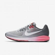 Nike Air Zoom Running Shoes Womens Dark Grey/White QL5128VG