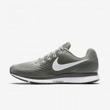 Nike Air Zoom Running Shoes Womens Black/Grey QR6122UG