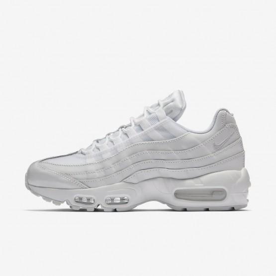 Nike Air Max 95 Lifestyle Shoes Womens White/White QT7183FK
