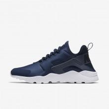 Nike Air Huarache Ultra Lifestyle Shoes Womens Navy/Obsidian/White/Blue RI2130WN