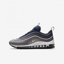 Nike Air Max 97 Ultra Lifestyle Shoes Girls Dark Grey/Rose/Navy/White RM2458VY
