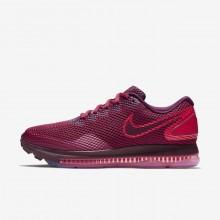 Nike Zoom Running Shoes Womens Burgundy/Burgundy RM3296VI