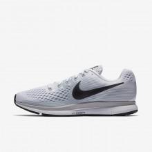 Nike Air Zoom Running Shoes Mens White/Platinum/Grey/Dark Grey RO4218HF