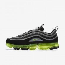Nike Air VaporMax Lifestyle Shoes Mens Black/Metallic Silver/White RV8432EV